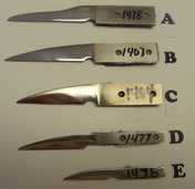 ! GREAT FOR GIFTS!  Make a knife for your friend or family.