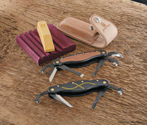 Flexcut Pocket Carving Knives:  Choose from three styles.