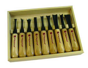 95-1100...Flexcut 10-Piece Deluxe Mallet Set