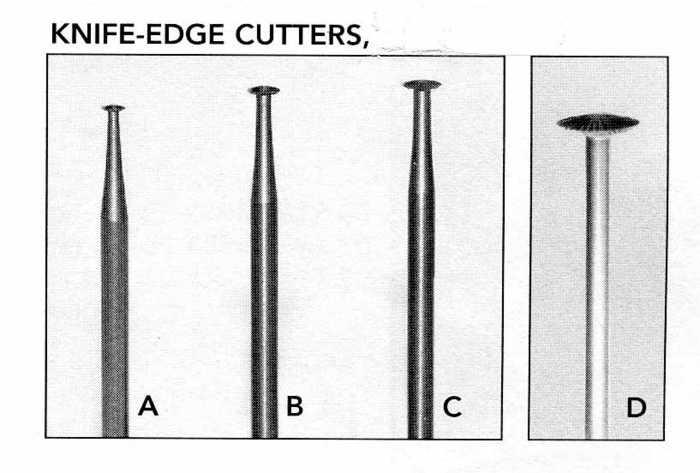 Cascade Carvers | Bits & Burs, Cutters & Stones